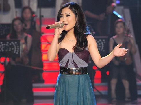 hương tràm đăng quang giọng hát việt 2012
