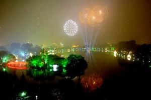 Các điểm bắn pháo hoa tết nguyên đán quý tỵ 2013 - Hà Nội